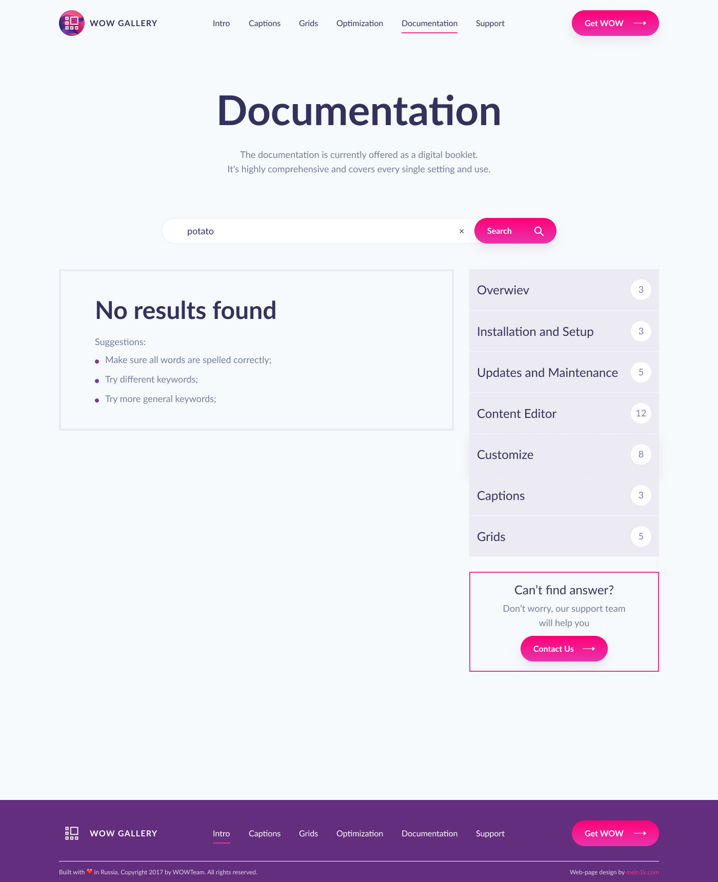 documentation-search-not-found